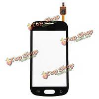 Сенсорный экран замена digitizer стекло объектива для Samsung s7562 S чо
