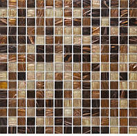 Коричневая мозаика стекло с авантюрином Vivacer SY-KG245