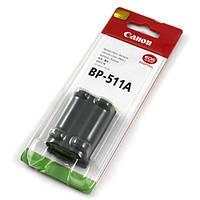 Аккумулятор батарея Canon BP-511 BP511 BP-511A BP511A 5D, 10D, 20D, 30D, 300D, 40D, 50D, PowerShot G5