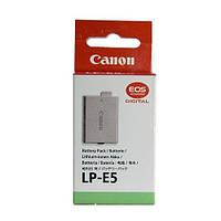 Аккумулятор батарея Canon LP-E5 LPE5 емкость 1 080 mAh EOS 1000D, 450D, 500D