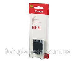 Аккумулятор батарея Canon NB-3L NB3L емкость 790 mAh  IXUS I, 700, 750, SD10, SD20, SD100, SD110, SD500, SD550