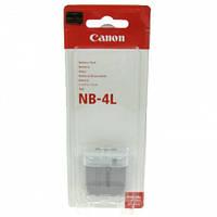 Аккумулятор батарея Canon NB-4L NB4L емкость 760 mAh  IXUS 30, 40, 50, 55, 60, 65, SD30, SD200, SD300, SD400,