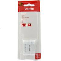 Аккумулятор батарея Canon NB-6L NB6L емкость 1 000 mAh S90 D10 SD4000 110 IXUS 85 IS, 95, 105, 200, 210, 300, PowerShot, SD770, SD1200