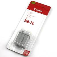 Аккумулятор батарея Canon NB-7L NB7L емкость 1 050 mAh Powershot G12, G11, G10,  SX5, SX30