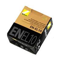 Аккумулятор батарея Nikon EN-EL10 ENEL10 емкость 740 mAh S200, S210, S220, S230, S3000, S4000, S500, S510, S51