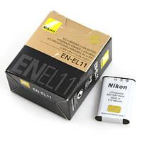 Аккумулятор батарея Nikon EN-EL11 ENEL11 емкость 680 mAh Coolpix S550, Olympus, Pentax, Coolpix S560, Optio L5