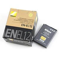 Аккумулятор батарея Nikon EN-EL12 ENEL12 емкость 1 050 mAh Coolpix AW100, P300, S70, S610, S1100pj, S8000, S6150