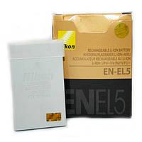 Аккумулятор батарея Nikon EN-EL5 ENEL5  емкость 1 100 mAhCoolpix 3700, Coolpix 4200, Coolpix 5200, Coolpix 590