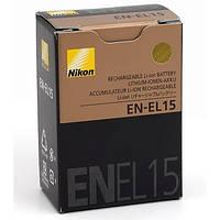 Аккумулятор батарея Nikon EN-EL15 ENEL15 емкость 1 900 mAh D600, D7000, D7100, D800, 1 V1