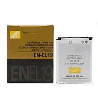 Аккумулятор батарея Nikon EN-EL19 ENEL19 емкость 700 mAh Coolpix, S100, S2500, S2600, S2700, S2750, S3100, S32