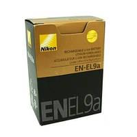 Аккумулятор батарея Nikon EN-EL9A ENEL9 емкость 1 080 mAh D5000, D3000, D60, D40x, D40