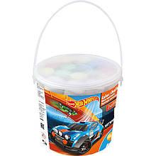 Мел цветной Jumbo, 15 штук в ведерке Hot Wheels KITE