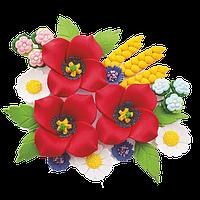 Квіти з мастики
