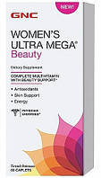 GNC Women's Ultra Mega Beauty 60 caplets, фото 1