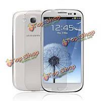 Защитная пленка матовая для экрана телефона Samsung Galaxy S3/i9300 (розовый)