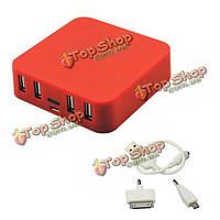 Иво Р18 7800mAh силы 4 выходами USB Power Bank для мобильного телефона