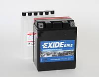 Аккумулятор для мотоцикла гелевый EXIDE ETX14AH-BS=YTX14AH-BS  12 Ah 134x89x164