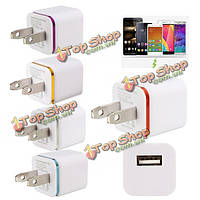 Mini-USB 5V/1a перемещения дома стены зарядное устройство зарядки адаптер США штекер