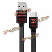 Earledom 1м кабель 3.3ft USB3.1 TPE 2а Type-C сбор данных для OnePlus Nokia N1макинтош книга