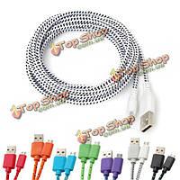 2.8м конопли шнур Micro-USB зарядное устройство кабель для зарядки для мобильного телефона