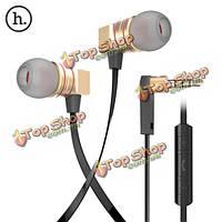 НОСО epv02 универсальный в ухо проводное управление Наушники гарнитуры с микрофоном