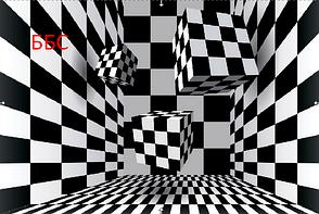 Фотообои Шахматы с текстурами