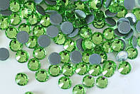 Стразы А+ Premium, Peridot (зеленый) SS16 (4,0 мм) термоклеевые. Цена за 144 шт.