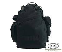 Армейские тактические рюкзаки MFH «Combo» на 40 литров black чёрный