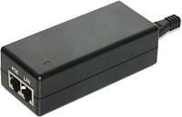 Блок питания PoE, 48V, 0.5A, LED, DC ground