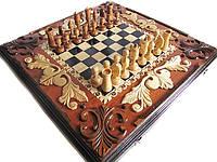 Шахматы-эксклюзив,ручная работа,резьба по дереву