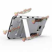2в1 лат обратно защитной оболочки стенд держатель чехол для Samsung Galaxy S6+