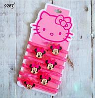 Набор резинок Minnie Mouse для девочки, 6 штук