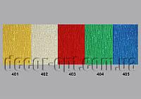 Креп-бумага металлизированная 50см *1,5м 60г (Италия)