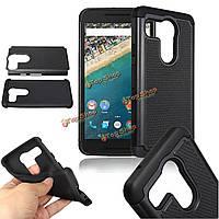 Футбол кожи Hybrid ПК силикона двухслойные для тяжелых условий эксплуатации жесткий чехол крышки для LG Nexus 5X