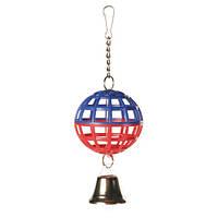 М'яч Trixie пластмас.з дзвіночком 7см