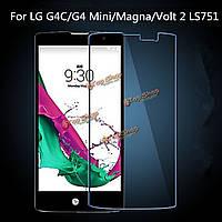 NEW защита экрана пленка закаленное стекло для LG G4c/g4 Mini/MAGNA/вольт 2 ls751