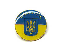 Значок Герб Украины Трезубец