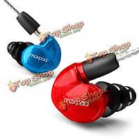 В-уха замена спортивный кабель шумоизоляции наушников наушники с микрофоном X6 moxpad