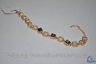 Браслет с камнями женский Fashion Jewelry D-1