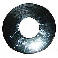 Кабель телефонный Cablexpert TC1000S-100M-B 100 м. 4 пары, плоский, литой, черный цвет