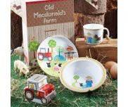 Набор детский в подарочной упаковке 3 пр Old MacDonald LITTLE RHYMES Churchill