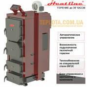 Котел твердотопливный Heat Line КОТ 10 Т (дрова, уголь, длительное горение)