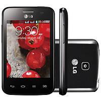 Защитная пленка для телефона LG E435 Optimus L3 II Dual на две стороны