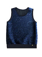 Одежда для школы девочкам, Жилет школьный (черный) тм Смил р-ры 152,158