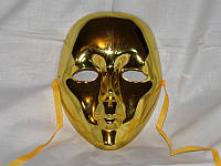 Венецианская  Маска Золотой Лик