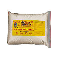 Антисептическая огнебиозащита для древесины Страж-2 БС-13 1 кг