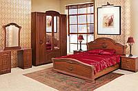 Кровать 2-сп Венеция 1,6 м яблоня (Світ Меблів TM)