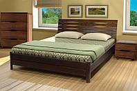 Кровать двухспальная деревянная Мария (массив бука)