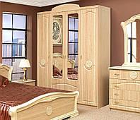 Шкаф 4Д Венеция клен (Світ Меблів TM)