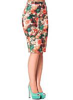 Изысканная женская юбка в яркой цветовой гамме